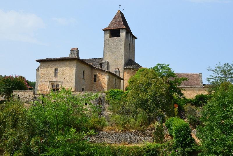 Le hameau de Saint-Avit