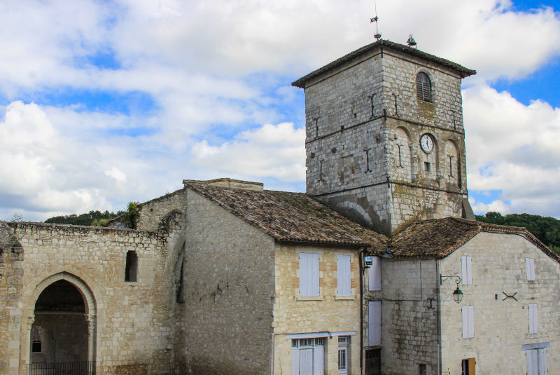 L'Abbaye de Saint-Maurin