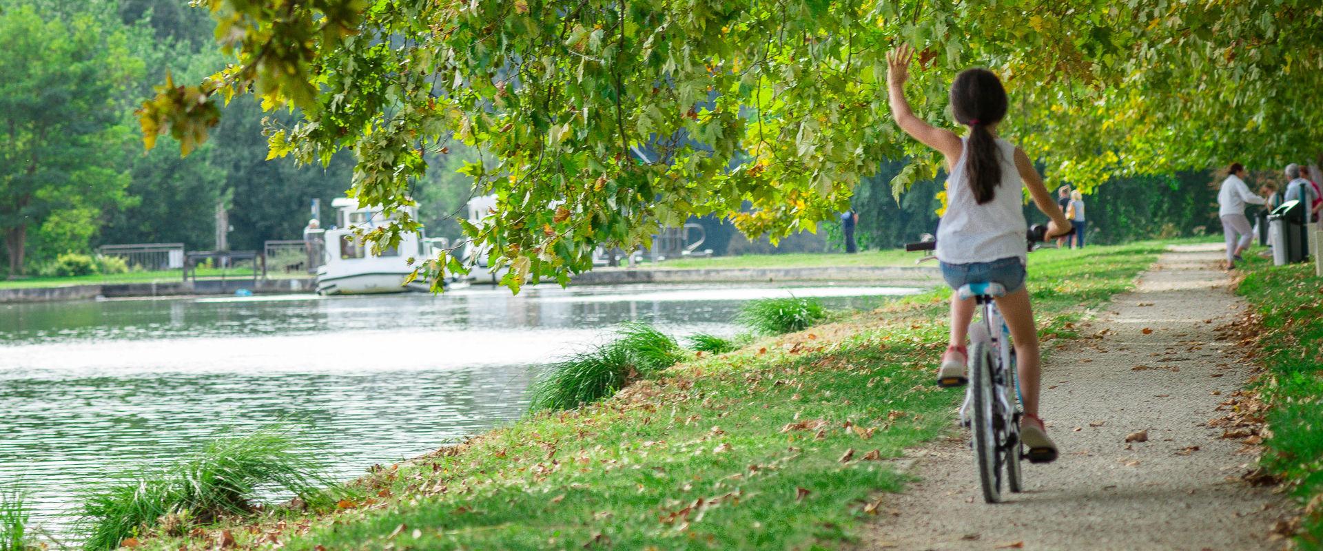 Balade à vélo en Agenais