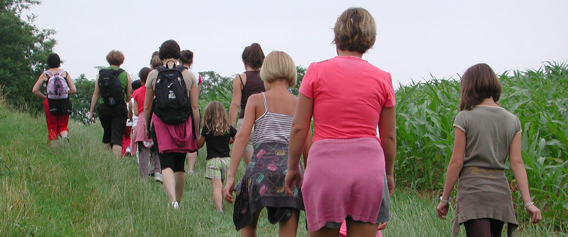 Randonnée à pied en Agenais