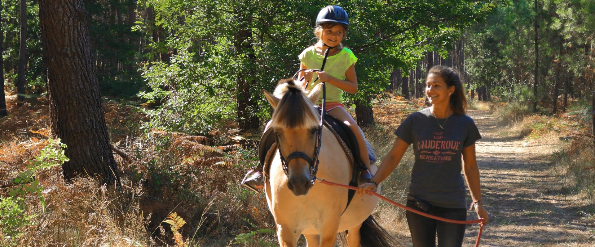 Balade à cheval en Albret