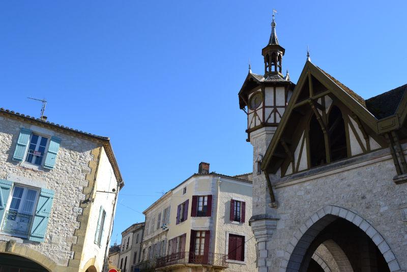 La bastide de Castillonnès
