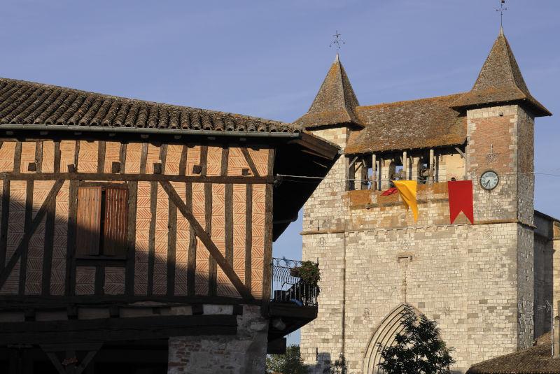 La bastide de Villeréal