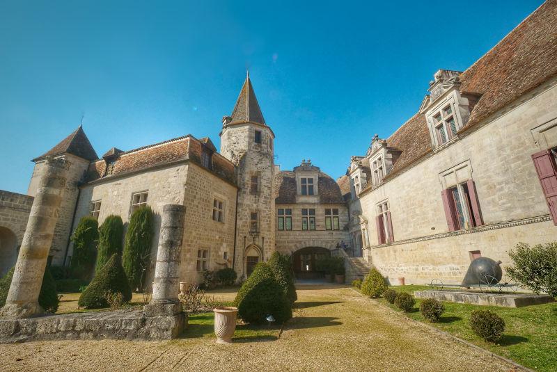 Le château de Lauzun