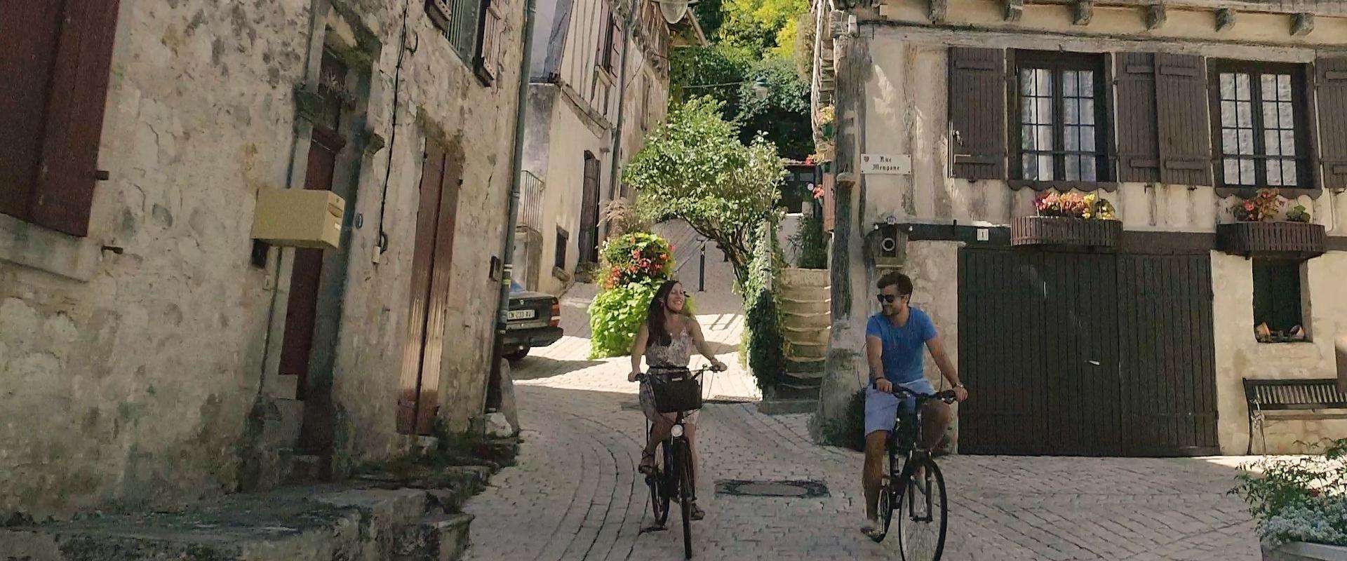Balade à vélo en Coeur de Bastides