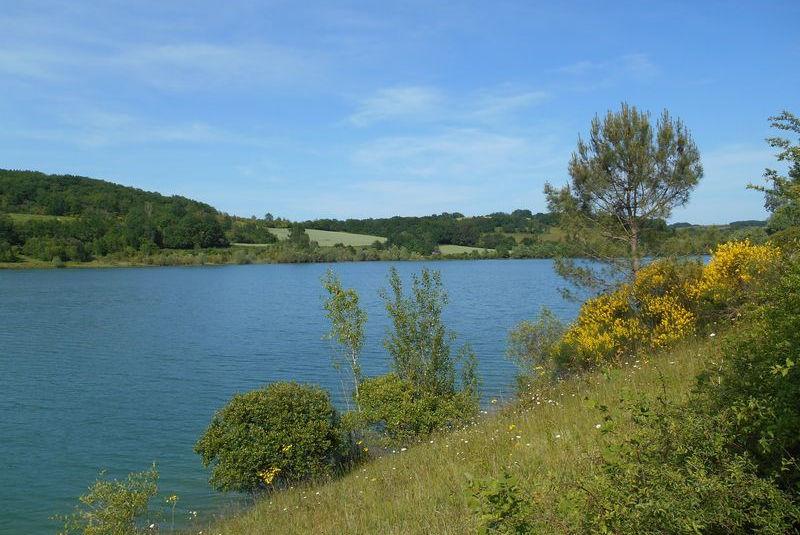 Le lac du Salabert
