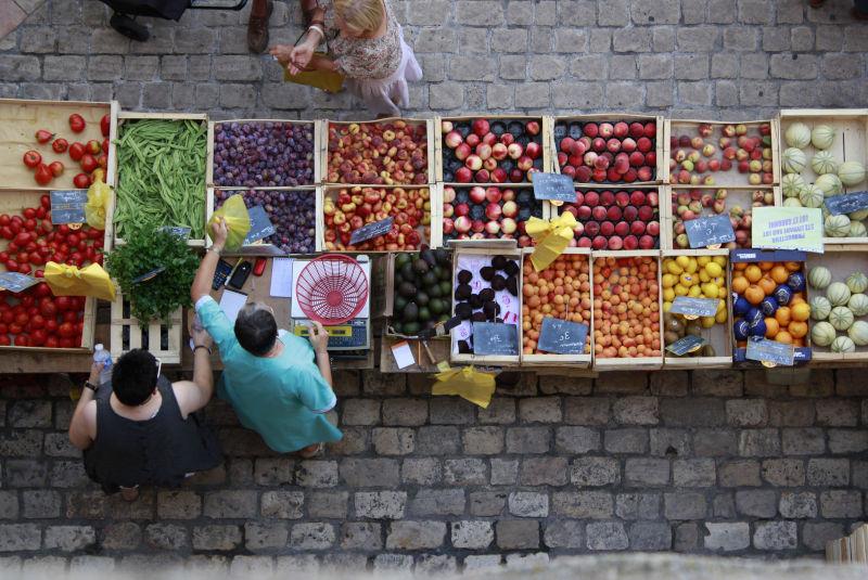 Le marché bio de Villeneuve-sur-Lot