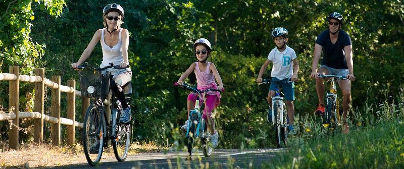 Balade à vélo en Vallée du Lot